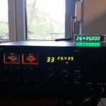 GALAXY DX2517 GREEN FREQUENCY METER